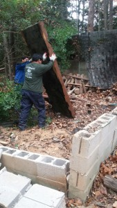 Shed removal Herndon VA